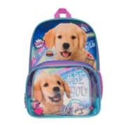 "Kids ""Be You"" Puppy Dog Backpack & Lunch Bag Set"