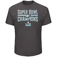 Men's Philadelphia Eagles Super Bowl LII Champions Sudden Impact Tee