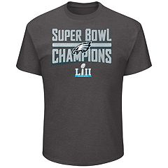 Men's Philadelphia Eagles Super Bowl LII Champions Sudden Impact Tee