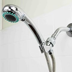 Sunbeam Chrome 3 Function Shower Head Massager
