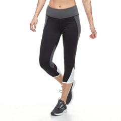 Women's Tek Gear® Performance Ruched Capri Leggings