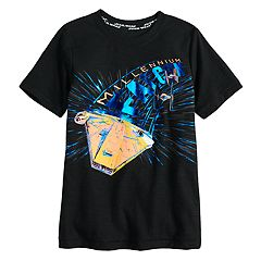 Boys 4-7x Star Wars a Collection for Kohl's Millennium Falcon Foiled Graphic Tee