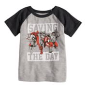 "Toddler Boy Jumping Beans® ""Saving The Day"" Avengers Raglan Graphic Tee"