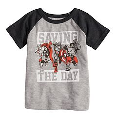 Toddler Boy Jumping Beans® 'Saving The Day' Avengers Raglan Graphic Tee