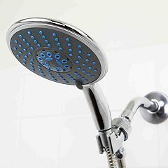 Sunbeam Chrome Jumbo Shower Head Massager