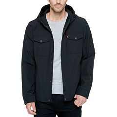 Big & Tall Levi's® Arctic Cloth Hooded Rain Jacket