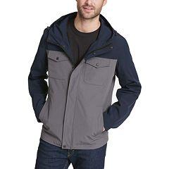 Big & Tall Levi's® Arctic Cloth Hooded Rain Jacket