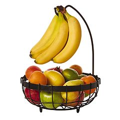 Gourmet Basics Marketplace Banana Hook Fruit Basket