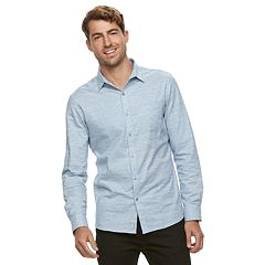 Men's Marc Anthony Slim-Fit Pocket Button-Down Shirt