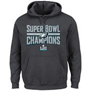 Men's Philadelphia Eagles Super Bowl LII Champions Sudden Impact Hoodie