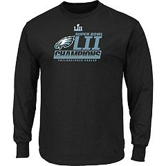 Men's Philadelphia Eagles Super Bowl LII Champions Fanfare Long-Sleeve Tee