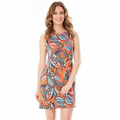 Petite Apt. 9® Printed Swing Dress