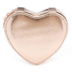 LC Lauren Conrad Heart Jewelry Pouch