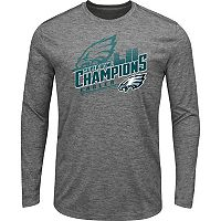 Men's Philadelphia Eagles Super Bowl LII Champions Intimidating Long-Sleeve Tee