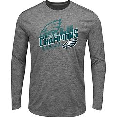 Men's Philadelphia Eagles Super Bowl LII Champions Intimidating Long-Sleeve Tee