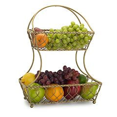 Gourmet Basics 2 tier Basket