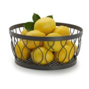 Gourmet Basics Rustic Farmstand Fruit Basket