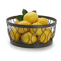 Gourmet Basics Rustic Farmstand Fruit Basket