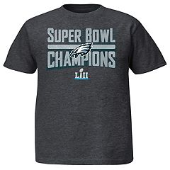 Boys 8-20 Philadelphia Eagles Super Bowl LII Champions Sudden Impact Tee