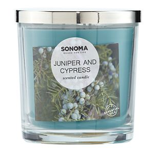 SONOMA Goods for Life® Juniper & Cypress 14-oz. Candle Jar