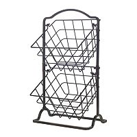 Gourmet Basics General Store 2 tier Hanging Basket