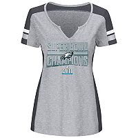 Women's Philadelphia Eagles Super Bowl LII Champions Team Tee