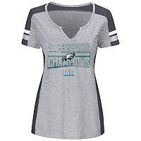 Women's Philadelphia Eagles Super Bowl LII Champions Team Tee