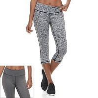 Women's Tek Gear® Reversible Capri Leggings