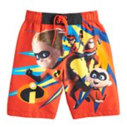 Disney / Pixar The Incredibles Boys 4-7 Swim Trunks