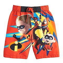 Disney / Pixar The Incredibles Boys 4-7 Swim Trunks