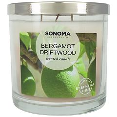 SONOMA Goods for Life™ Bergamot Driftwood 14-oz. Candle Jar