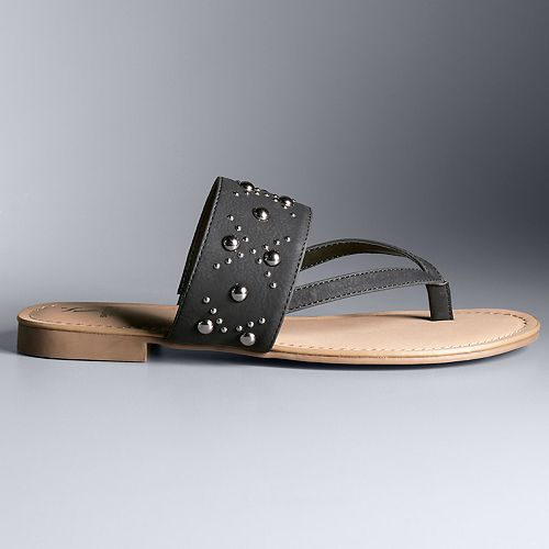Simply Vera Vera Wang Pagoda ... Women's Sandals g2FpwAxz1S