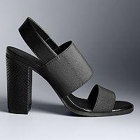 Simply Vera Vera Wang Embassy Women's High Heel Sandals