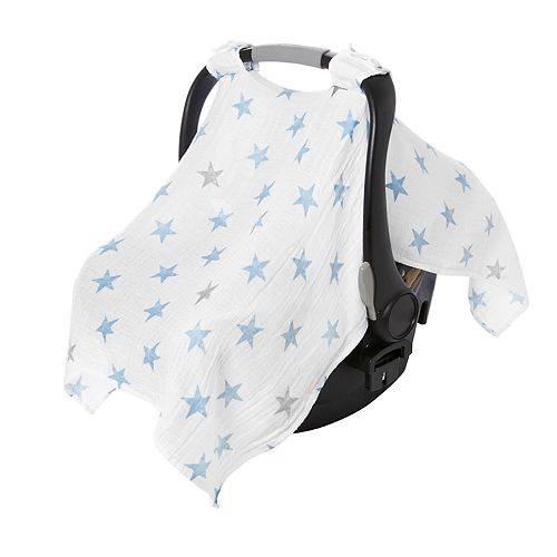 Aden By Anais Muslin Car Seat Canopy Cover