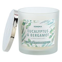 SONOMA Goods for Life™ Eucalyptus & Bergamot 13-oz. Candle Jar