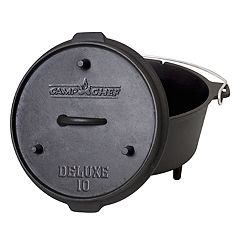 Camp Chef 6-Quart Cast-Iron Deluxe Dutch Oven