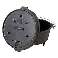 Camp Chef Cast-Iron Deluxe Dutch Oven