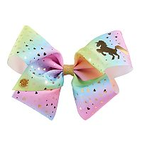 Girls 4-16 JoJo Siwa Unicorn & Heart Rainbow Hair Bow
