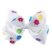 Girls 4-16 JoJo Siwa Rhinestone & Flower Hair Bow
