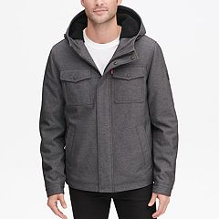 Men's Levi's® Sherpa-Lined Softshell Hooded Trucker Jacket