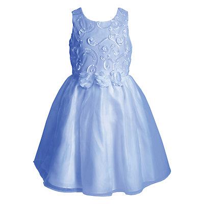 Toddler Girl Young Hearts Rosette Soutache Dress