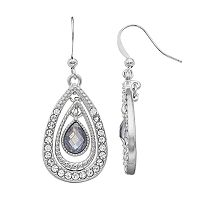 Teardrop Double Drop Earrings