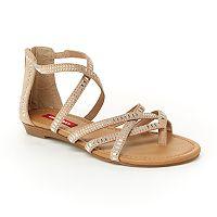 Unionbay Soho Women's Strappy Gladiator Sandals