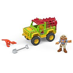 Fisher-Price Imaginext Jurassic World Dr. Grant & 4x4 Set