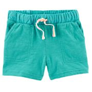 Girls 4-8 Carter's Knit Pull-On Shorts