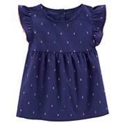 Girls' 4-8 Carter's Flutter Sleeve Tunic Top