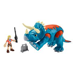 Fisher-Price Imaginext Jurassic World Dr. Sattler & Triceratops Set