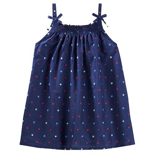 Girls 4-12 OshKosh B'gosh® Print Smocked Tank Top