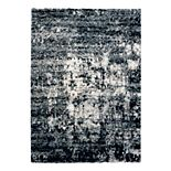 Gertmenian Micro Shaggy Halsbury Abstract Rug