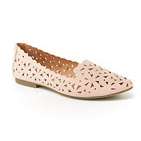 Unionbay Welcome Women's Perforated Loafer Flats